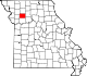 A state map highlighting Caldwell County in the northwestern part of the state.